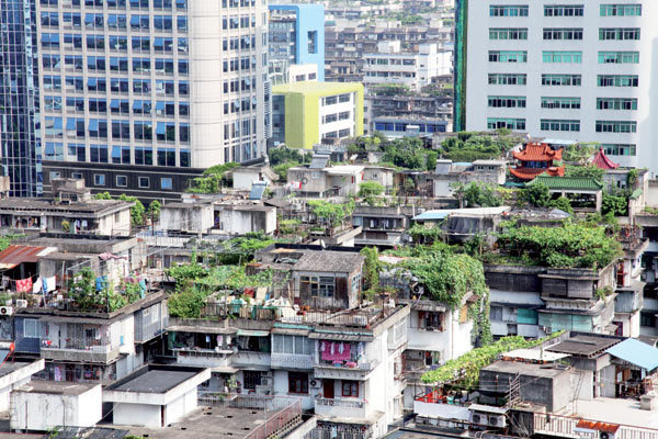 Beijing to cover roofs with greenery