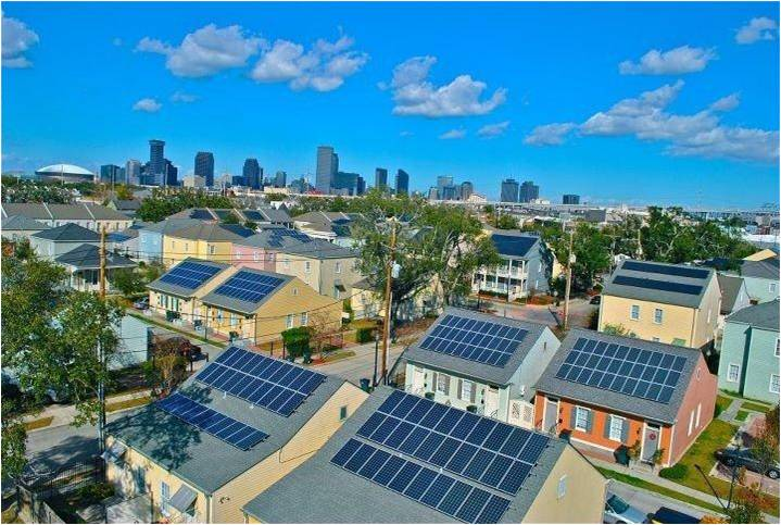 1.05 MW project also largest solar PV-installation in Louisiana
