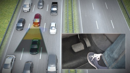 Ford's New Traffic Jam Assist Technology Paves the Way to Self-Driving Cars
