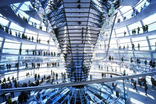 PICS: Foster & Partners' Beautiful Green Renovation of Berlin's Old Reichstag Parliament Building