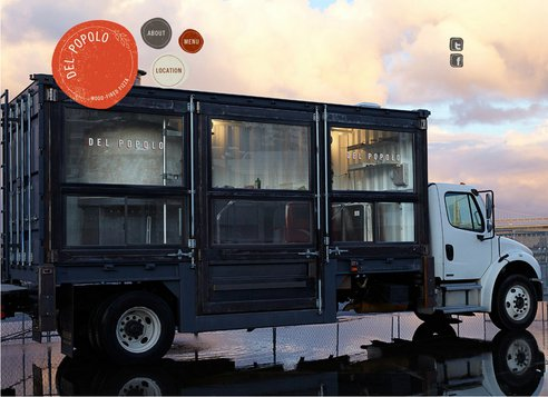 Mobile Pizzeria is Built Out Of A 20′ Shipping Container