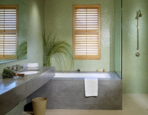 "Green Bathroom Makeover — Quick and easy ""green"" bathroom updates."