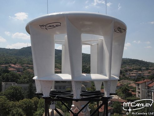 New Vertical Axis Wind Turbine Prototype Takes Aim at Urban Wind Power