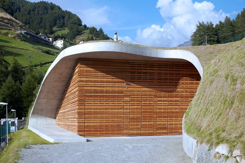 Stunning Sustainable Building is a … Hydroelectric Plant?