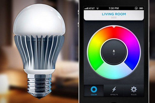 The Futuristic LIFX LED Bulb Changes Color