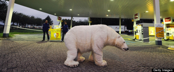 Shell Sues Greenpeace To Stop Arctic Protests