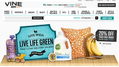 Amazon Starts Eco-Friendly Shopping Site
