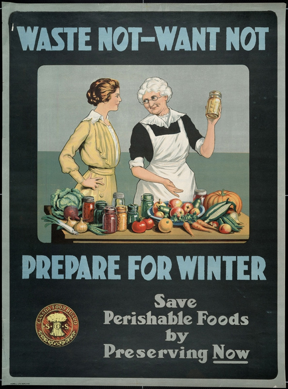 13 Great Posters on Preserving Food, When It Was Life or Death