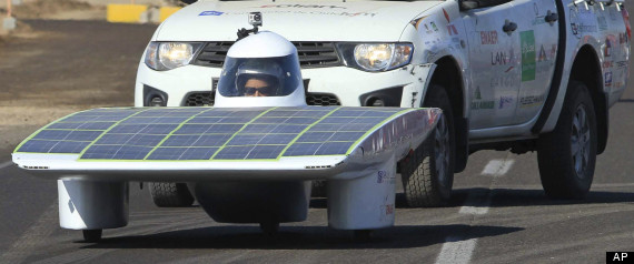 The Atacama Solar Challenge In Chile Brings Cars Powered By The Sun To The World's Driest Desert