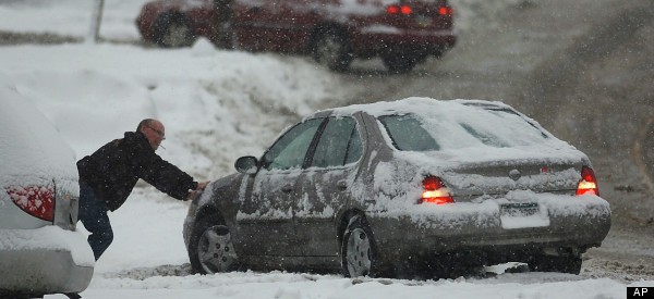 Snow Storm Buries New England