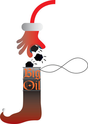 Naughty Is Too Nice a Word for Big Oil This Holiday Season