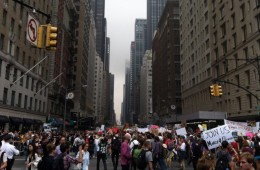 More Than 310,000 People Descend On New York To March For Climate Action