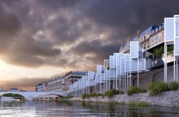Proposal for Housing Along the Banks of the Seine