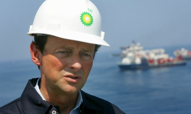 GULF OF MEXICO - MAY 28:  (FILE PHOTO)CEO of BP Tony Hayward stands on the deck of the Discover Enterprise drill ship during recovery operations May 28, 2010 in the Gulf of Mexico 55, miles south of Venice, Louisiana. It was reported by the Times of London that BP CEO Tony Hayward is expected to resign from his postion within the next 10 weeks however spokesmen with BP deny the claim July 20, 2010.    (Photo by Sean Gardner/-Pool/Getty Images)
