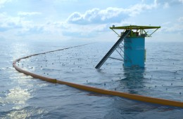 DUTCH STUDENT DESIGNS OCEAN CLEANUP ARRAY