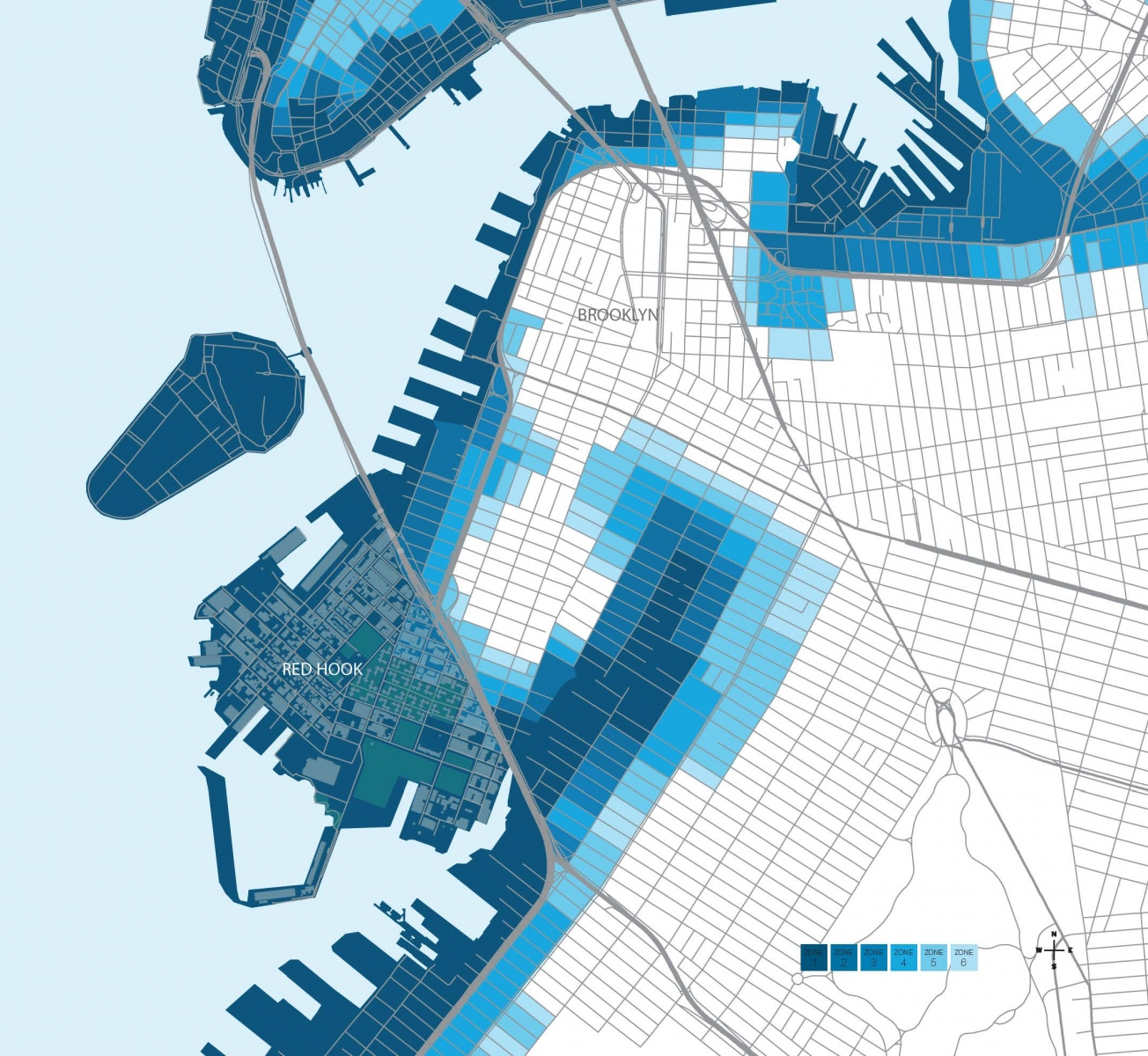 2016_BASF_RedHook_WhitePaper_Map_Brooklyn Flood Zones