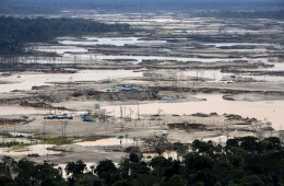 GOLD MINING HAS DEVASTATED THE PERUVIAN AMAZON