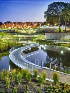 PARKS CAN ALSO BE GREEN INFRASTRUCTURE
