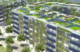Germany is building world's largest passive housing complex with 162 green units