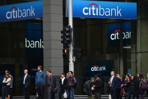 CITIBANK IS THE FIRST AUSTRALIAN BANK TO STOP TAKING CASH